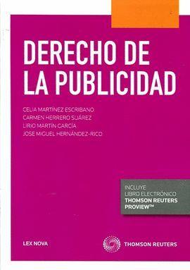 DERECHO DE LA PUBLICIDAD (1ª EDICIÓN 2015) DÚO