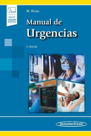 MANUAL DE URGENCIAS (5ª EDICIÓN) (VERSIÓN PAPEL + DIGITAL)