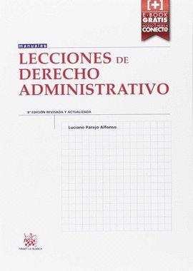 LECCIONES DE DERECHO ADMINISTRATIVO (8ª EDICIÓN 2016)