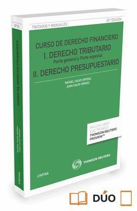 CURSO DE DERECHO FINANCIERO I  (20ª ED. 2016) DÚO