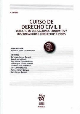 CURSO DE DERECHO CIVIL II DERECHO DE OBLIGACIONES, CONTRATOS Y RESPONSABILIDAD P