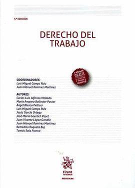 DERECHO DEL TRABAJO (5ª EDICIÓN 2016)
