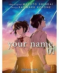 YOUR NAME. Nº 01/03 (MANGA)