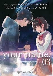 YOUR NAME. Nº 03/03 (MANGA)