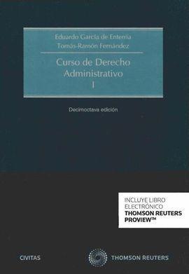 CURSO DE DERECHO ADMINISTRATIVO I (2017) -DÚO-