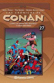LAS CRÓNICAS DE CONAN Nº 27/34
