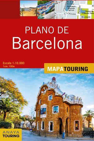 BARCELONA, PLANO DE - MAPA TOURING
