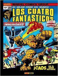 LOS CUATRO FANTASTICOS 8: ¡CAOS EN EL GRAN REFUGIO!