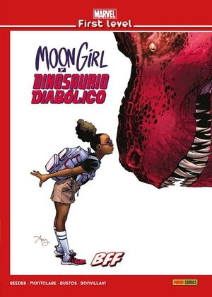MARVEL FIRST LEVEL 14: MOON GIRL Y DINOSAURIO DIABOLICO
