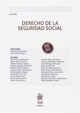 DERECHO DE LA SEGURIDAD SOCIAL (6ª EDICIÓN 2017)