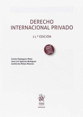DERECHO INTERNACIONAL PRIVADO (11ª EDICIÓN 2107)