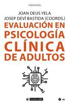 EVALUACION EN PSICOLOGIA CLINICA DE ADULTOS
