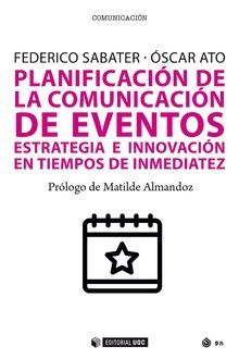 PLANIFICACION DE LA COMUNICACION DE EVENTOS