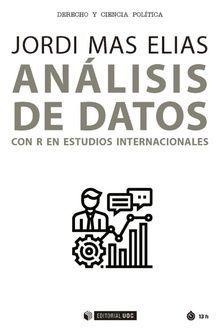 ANÁLISIS DE DATOS CON R EN ESTUDIOS INTERNACIONALES