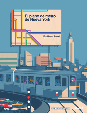 GRAN PLANO DEL METRO DE NUEVA YORK, EL