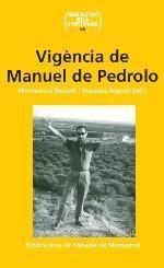 VIGÈNCIA DE MANUEL DE PEDROLO