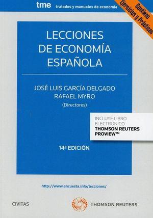 LECCIONES DE ECONOMIA ESPAÑOLA (DÚO  )