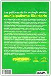 POLITICAS DE LA ECOLOGIA SOCIAL: MUNICIPALISMO LIBERTARIO, LAS