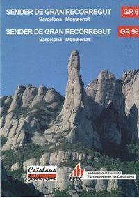 GR 6 / GR 96 - BARCELONA - MONTSERRAT, SENDER DE GRAN RECORREGUT