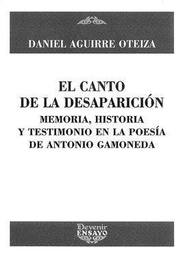 CANTO DE LA DESAPARICION, EL