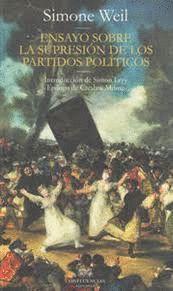 ENSAYO SOBRE LA SUPRESION DE LOS PARTIDOS POLITICOS