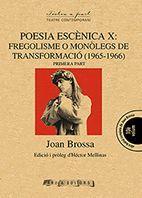 POESIA ESCENICA X: PRIMERA PART