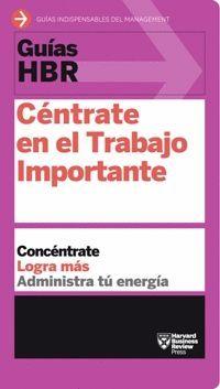 CÉNTRATE EN EL TRABAJO IMPORTANTE