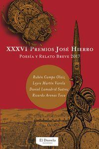 XXXVI PREMIOS JOSÉ HIERRO
