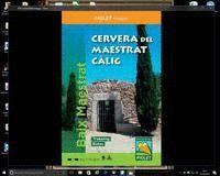 CERVERA DEL MAESTRAT - CÀLIG (BAIX MAESTRAT) ESC.1:20.000