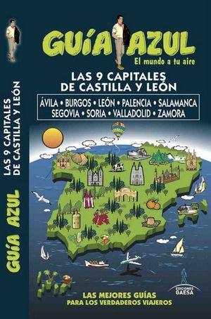 CAPITALES DE CASTILLA Y LEÓN, GUIA AZUL