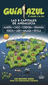 CAPITALES DE ANDALUCÍA, GUIA AZUL