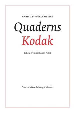 QUADERNS KODAK