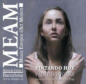 PINTANDO HOY / PAINTING TODAY (DIA INTERNACIONAL DE LA MUJER)