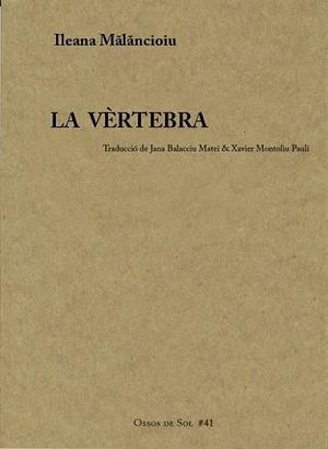 VÈRTEBRA, LA  ( CATALÀ )