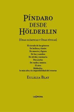 PÍNDARO DESDE HÖLDERLIN