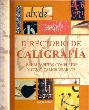 DIRECTORIO DE CALIGRAFIA