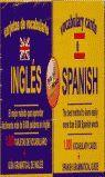 TARJETAS DE VOCABULARIO INGLES. BOX WORDS (1000 TARJETAS + GUIA GRAMATICAL DE INGLES)