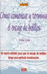 COMO COMENZAR Y TERMINAR EL ENCAJE DE BOLILLOS