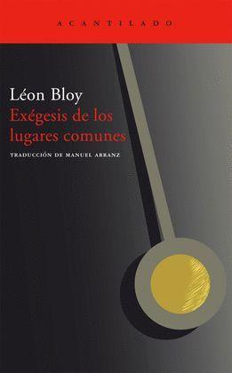 EXEGESIS DE LOS LUGARES COMUNES