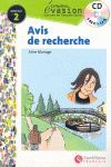 AVIS DE RECHERCHE + AUDIO CD