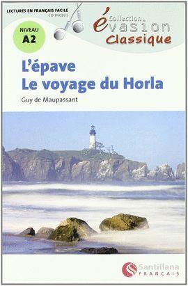 ÉPAVE, L' + AUDIO CD (NIVEAU A2)