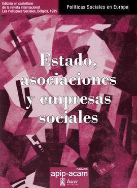 ESTADO, ASOCIACIONES Y EMPRESAS SOCIALES