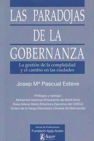 PARADOJAS DE LA GOBERNANZA, LAS