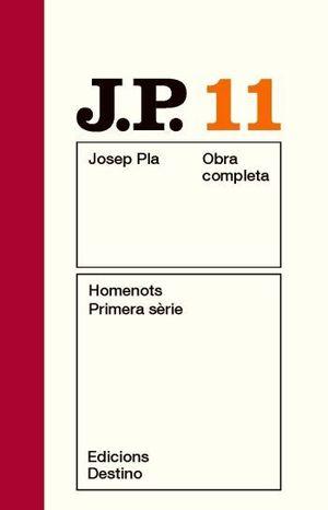 HOMENOTS. PRIMERA SÈRIE (OBRA COMPLETA-11)