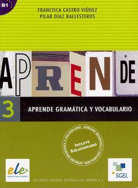 APRENDE GRAMÁTICA Y VOCABULARIO 3