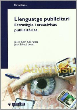 LLENGUATGE PUBLICITARI. ESTRATEGIA I CREATIVITAT PUBLICITARIES
