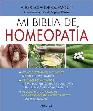 MI BIBLIA DE HOMEOPATÍA