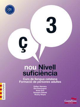 NOU NIVELL SUFICIÈNCIA 3 - SOLUCIONARI