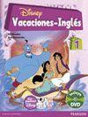 VACACIONES INGLÉS 1 PRIMARIA + DVD