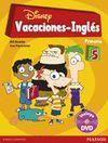 VACACIONES INGLES 5 PRIMARIA + DVD